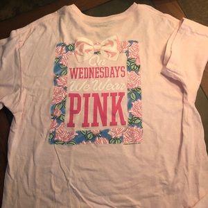 "Tops - ""On Wednesdays we wear pink"" T-shirt"